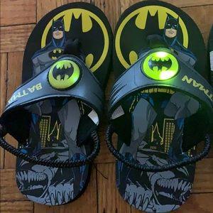 Other - Light up Batman sandals